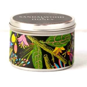 Urban outfitters tin candle